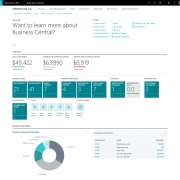 Dynamics 365 Business Central (Navision) - Role Center