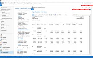Dynamics NAV (Navision) - Raport comision - agenți de vânzări