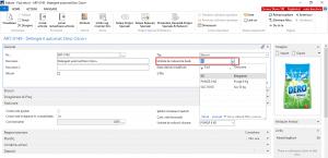 Dynamics NAV Navision - Selectare unitate de măsură de bază