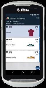 Mobile WMS - linii comandă