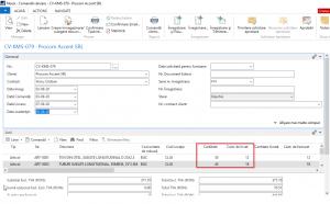 Dynamics NAV (Navision) - Comanda vânzare - Livrare parțială