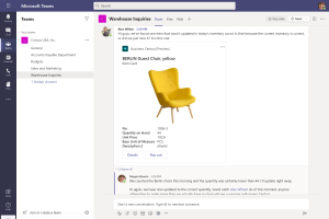 Dynamics 365 Business Central (Navision) - Microsoft Teams Link