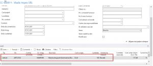 Dynamics NAV (Navision) - Comandă cumpărare - linie comandă cumpărare