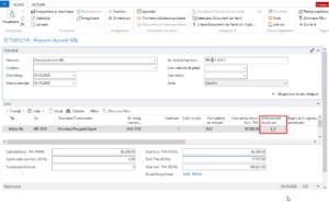 Dynamics NAV (Navision) -Achiziție mijloc fix - listă duplicare
