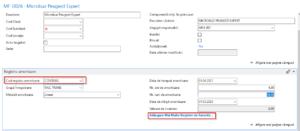 Dynamics NAV (Navision) -Fișă mijloc fix - registru amortizare contabil